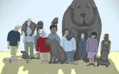 Black Dog Named Depression